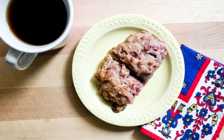 raspberry rhubard scone (3 of 4)
