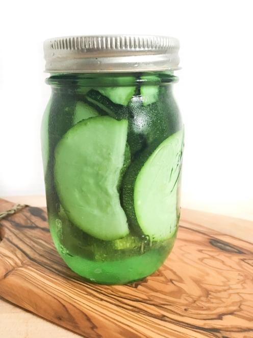 Pickled Zuccini